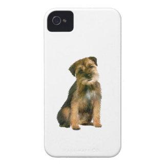 Frontera Terrier (a) iPhone 4 Carcasas