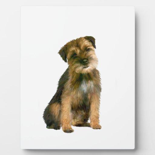 Frontera Terrier (a) Placas Para Mostrar
