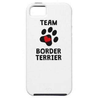 Frontera Terrier del equipo iPhone 5 Cobertura