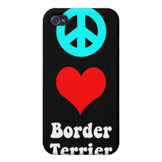 Frontera Terrier iPhone 4 Cárcasas
