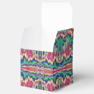 Fronteras abstractas cajas para regalos