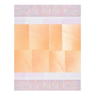Fronteras del diamante de la placa de oro n: plantillas de membrete