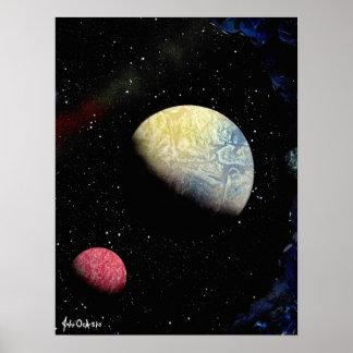 FRONTERAS FINALES 1 (~ del diseño del espacio Póster