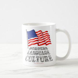 Fronteras, lengua, cultura taza