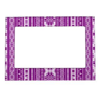 fronteras mezcladas amistosas púrpuras marcos magnéticos para fotos