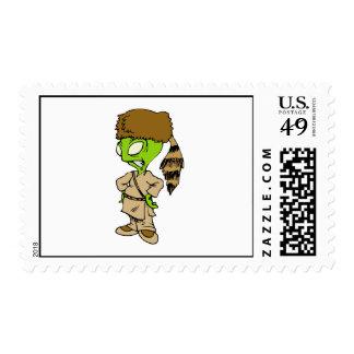 Frontier Alien Postage Stamps