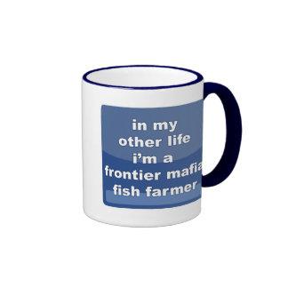 Frontier Mafia Fish Farmer Coffee Mugs