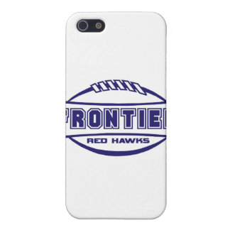 Frontier Red Hawks Logo final 1 color Navy Cover For iPhone SE/5/5s