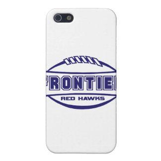 Frontier Red Hawks Logo final 1 color Navy iPhone 5/5S Case