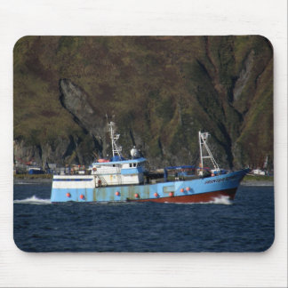 Frontier Spirit, Longliner in Dutch Harbor, AK Mouse Pad