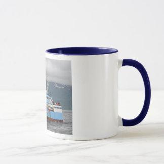Frontier Spirit, Longliner in Dutch Harbor, AK Mug