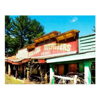 Frontier Town NY Postcard