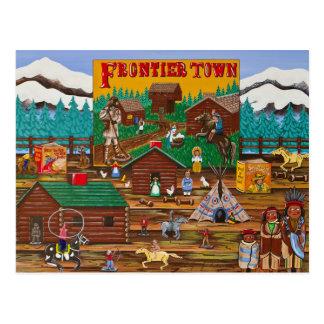 Frontier Town Postcard
