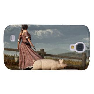 Frontier Widow Galaxy S4 Case