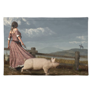 Frontier Widow Placemats