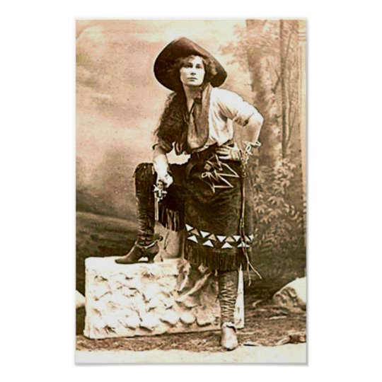 Frontier Woman Of The American West Print Zazzle Com
