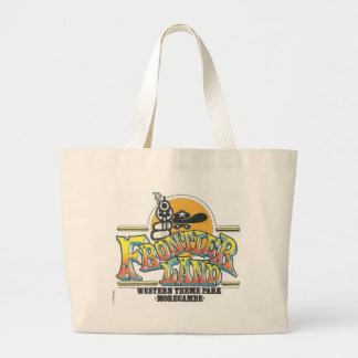 Frontierland Morecambe England Amusement Park Tote Bag