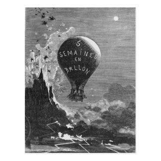 Frontispiece a 'cinco semanas en un Balloon Postal