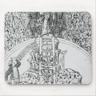 "Frontispiece a ""IL Monte Sancto di Dio"", 1477 Mousepads"