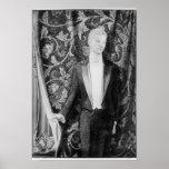 Frontispiece 'a la imagen de Dorian Gray Póster