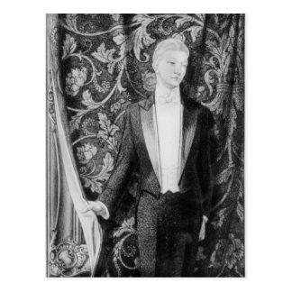 Frontispiece 'a la imagen de Dorian Gray Postal