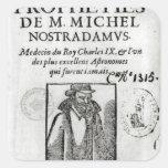 Frontispiece a 'Les Propheties de M. Miguel Calcomania Cuadrada Personalizada