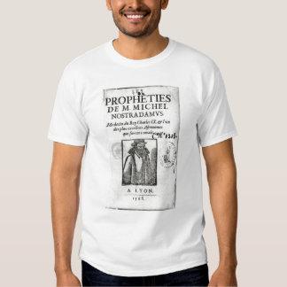 Frontispiece a 'Les Propheties de M. Miguel Playeras