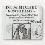 Frontispiece a 'Les Propheties de M. Miguel Tapetes De Ratones