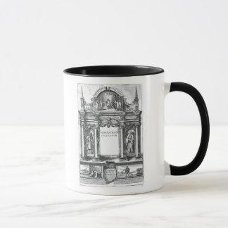 Frontispiece a 'Monasticon Anglicanum Taza