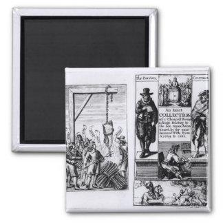 Frontispiece 'a una colección exacta de iman de nevera