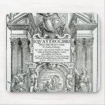 Frontispiece 'al dell'architettura del libri de Qu Alfombrillas De Raton