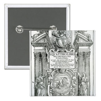 Frontispiece 'al dell'architettura del libri de Qu Pin Cuadrado