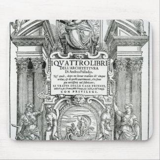 Frontispiece 'al dell'architettura del libri de Qu Alfombrilla De Ratones