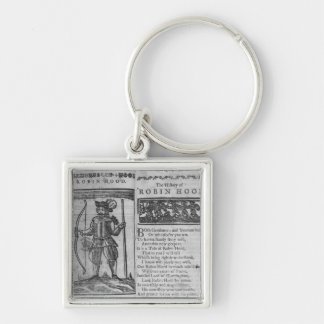 Frontispiece and opening lines keychain