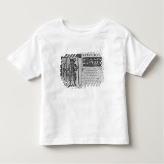 Frontispiece and opening lines toddler t-shirt