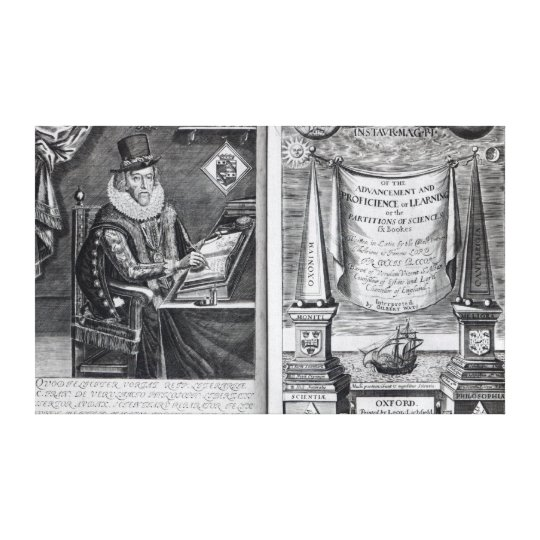 Frontispiece and Titlepage Canvas Print