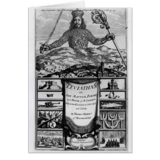 Frontispiece by Thomas Hobbes  of Malmesbury Card