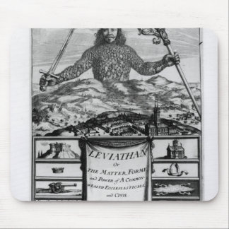 Frontispiece by Thomas Hobbes  of Malmesbury Mouse Pad