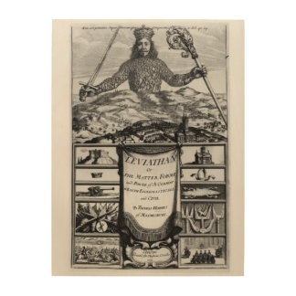 Frontispiece by Thomas Hobbes  of Malmesbury Wood Canvases