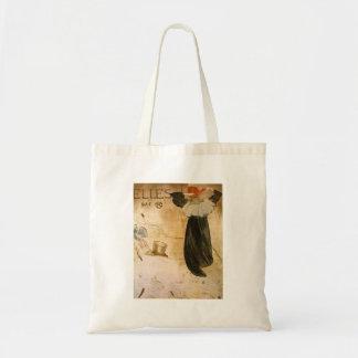 Frontispiece by Toulouse-Lautrec Canvas Bag