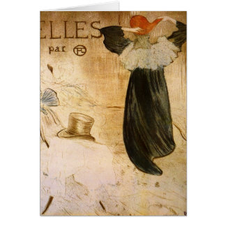 Frontispiece by Toulouse-Lautrec Card