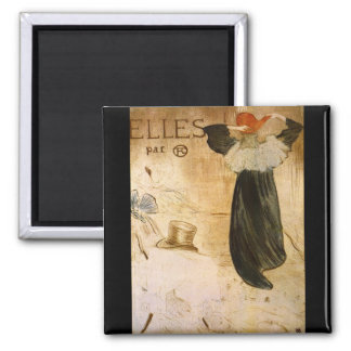 Frontispiece by Toulouse-Lautrec Fridge Magnets