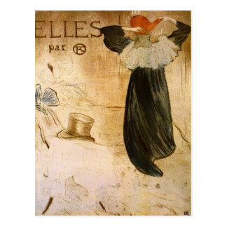 Frontispiece by Toulouse-Lautrec Postcard
