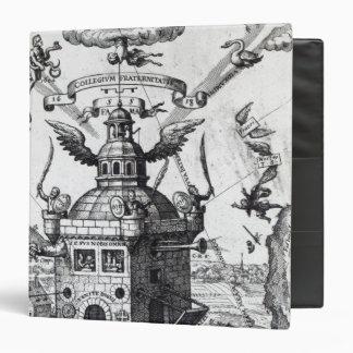 Frontispiece 'Collegium Fama Fraternitatis' Binder