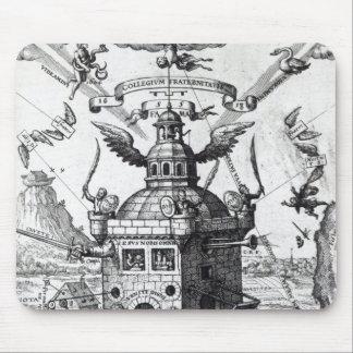 Frontispiece 'Collegium Fama Fraternitatis' Mouse Pad