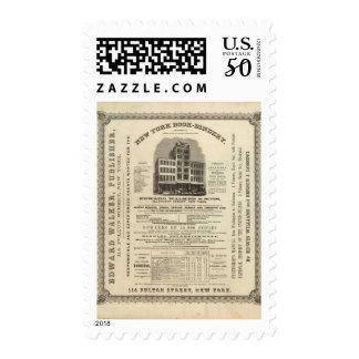 Frontispiece Colton's American Atlas Postage
