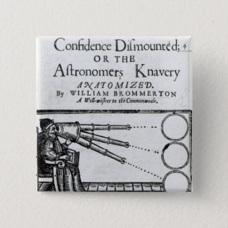 Frontispiece Confidence Dismounted;Astronomer Button
