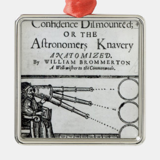Frontispiece Confidence Dismounted;Astronomer Metal Ornament
