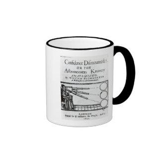 Frontispiece Confidence Dismounted;Astronomer Ringer Mug