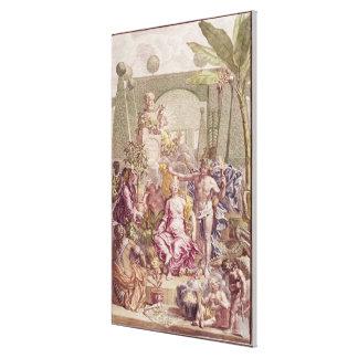 """Frontispiece de """"Hortus Cliffortianus"""" por Carl Impresiones De Lienzo"""